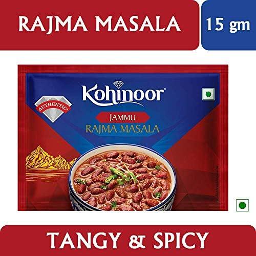 51gcjTUXN3L. AC  - Kohinoor Rajma Masala, 15g with Pav Bhaji Masala, 15g, Paneer Masala, 15g and Garam Masala, 40g Combo Pack