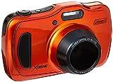 Coleman 20.0 Mega Pixels Waterproof HD Digital Camera with 4X Optical Zoom & 3' LCD Screen, Orange (C30WPZ-O)
