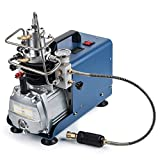 Orion Motor Tech High-Pressure Air Compressor Pump, 110V 30Mpa Electric Air Pump Air Rifle PCP 4500PSI Paintball Fill Station for Fire Fighting and Diving