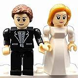 Brick'Em Young Bride & Groom Figurine