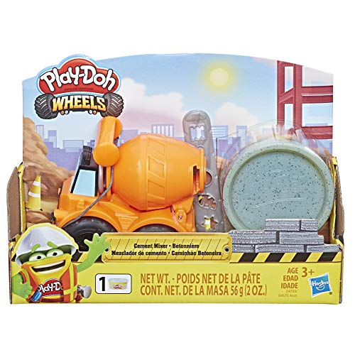 Expired:Easter Basket Stuffer! Play-Doh Wheels Mini Cement Truck Toy - LOW PRICE!