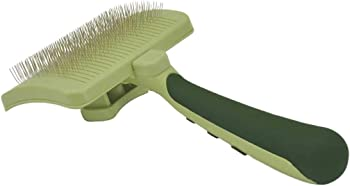 Safari by Coastal Self-Cleaning Slicker - Most Affordable Slicker Brush For Golden Retriever