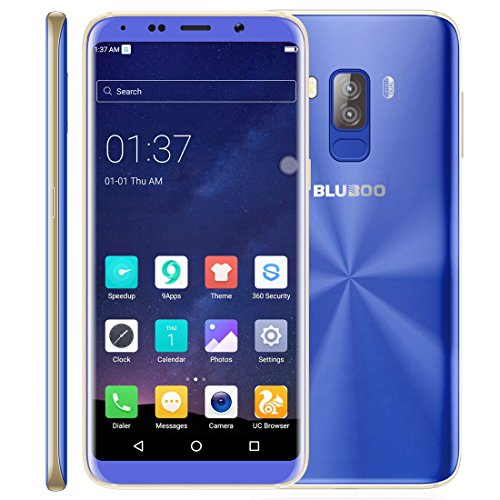 BLUBOO S8 3GB+32GB 5.7 inch Android 7.0 MTK6750T Octa Core up to 1.5GHz WCDMA & GSM & FDD-LTE (Blue)