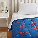 AmazonBasics by Marvel Spiderman Spidey Crawl Comforter, Twin