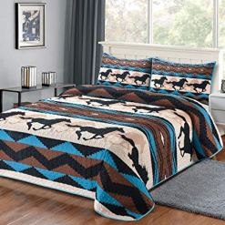 Wild Horse Country Quilt Set