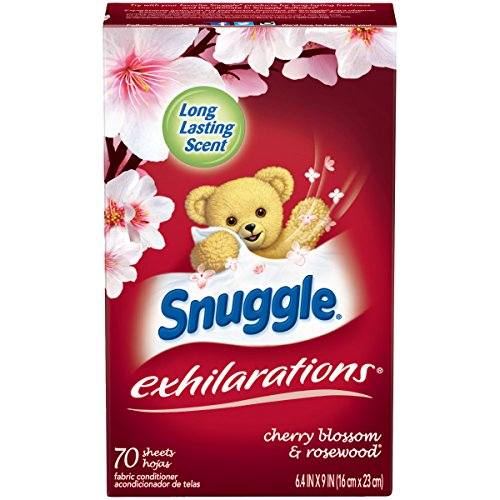 Snuggle Exhilarations Fabric Softener Dryer Sheets