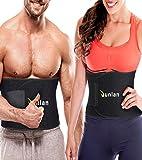 Waist Trainer Belt Neoprene Cincher Yoga Equipment Band Fitness Sport Training Abs Tummy Belt for Men Weight Loss