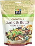 365 Everyday Value, Organic Croutons Butter & Garlic, 4.5 Ounce