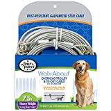 Four Paws Heavy Weight Dog Run Cable, 75 ft