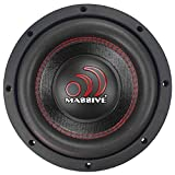 Car Subwoofer by Massive Audio | Subwoofers Woofer with Amazing Sound for Truck, Cars, Jeep | Sub Subs Speaker Speakers | 8in Inch GTX84 400 Watts / 800w RMS 4ohm DVC