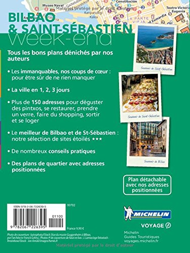 Guide Vert Week End Bilbao San Sebastian Michelin