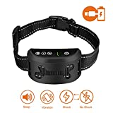 SMARTWOOD Bark Collar Bark Collar [2018 Upgrade Chip] Dog No Bark Collars with Vibration And Harmless Shock-USB Rechargeable Anti Barking Device for Small Medium and Large Dog