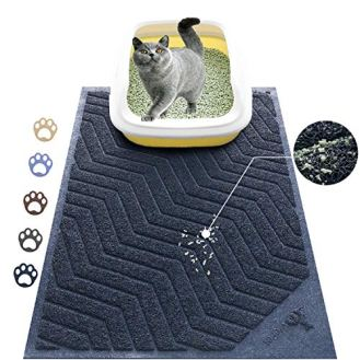 WePet-Cat-Litter-Mat-Kitty-Litter-Trapping-Mesh-Mat-35-x-23-Inch-Large-Blue-Premium-Durable-PVC-Rug-No-Phthalate-Urine-Waterproof-Easy-Clean-Washable-Scatter-Control-Litter-Box-Carpet