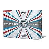 Callaway Supersoft Golf Balls, Prior Generation, (One Dozen), White