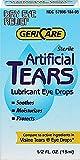 Gericare Artificial Tears Lubricant Eye Drops, 15 mL Per Bottle (9 Pack)