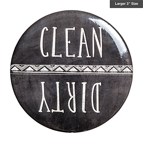Sutter Signs Clean & Dirty Dishwasher Magnet (Chalkboard) Large 3'