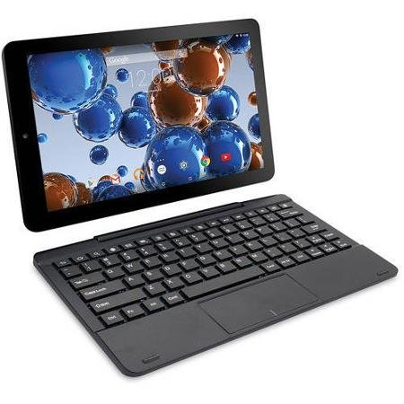 RCA Tablet 10'' with Detachable Keyboard Viking Pro , 4 Core, 32gb Android Lollipop