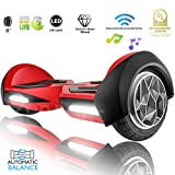 XPRIT Hoverboard w/Bluetooth Speaker (8' Red)
