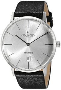 Hamilton Men's H38755751 American Classic Analog Display Swiss Automatic Black Watch