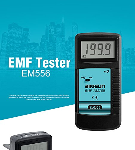 all-sun Digital EMF Meter Electromagnetic Radiation Detector Dosimeter
