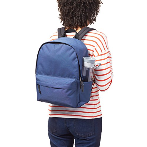 51h0lE0OidL - AmazonBasics 21 Ltrs Classic Fabric Backpack - Navy
