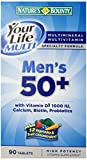 Nature's Bounty Your Life Men's Multi 50 Plus, 90 Tablets