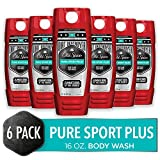Old Spice Dirt Destroyer Body Wash for Men, Pure Sport Plus Scent, Hardest Working Collection, 16.0...