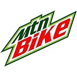 Mtn Bike (Bumper Sticker)