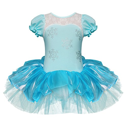 Elegant Snowflake Princess Party Dress