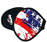 GymPaws Leather Workout Gloves | American Flag | These Color's Don't Run!