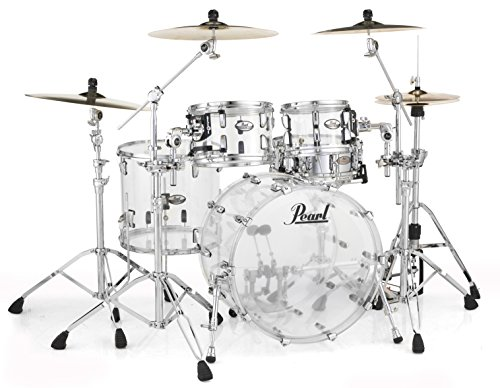 Pearl Crystal Beat CRB524P/C730 4 Piece Shell Pack, Ultra Clear
