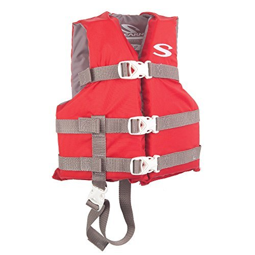 Stearns 3000004470 PFD 3004 Chd Poly Boating Red