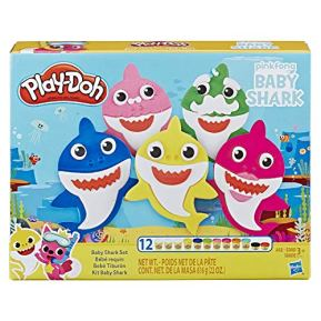 Play-Doh-Pinkfong-Baby-Shark-Set-with-12-Non-Toxic-Play-Doh-Cans