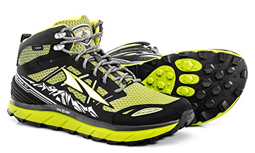 Altra Men's Lone Peak 3.0 Mid Neo Running Shoes (9.5 D(M) US, Lime)