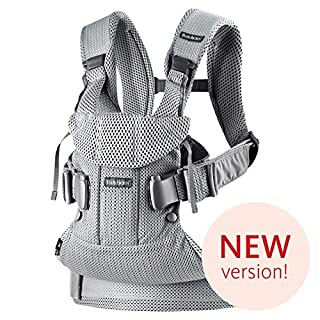 The latest version of Baby Carrier One Air in airy 3D mesh is designed to make babywearing much more comfortable. The cool mesh fabric has many popular qualities. It's soft and breathable, but it's also durable and dries quickly after washing. In all...