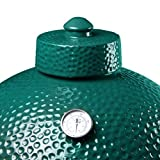 Ceramic Chimney Cap fit for Big Green Egg ,SAROO Ceramic Grill Damper Top Accessories for Large/XL Green Egg BGE Replacement Parts
