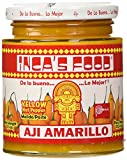 Inca's Food Aji Amarillo Paste - Hot Yellow Pepper Paste, 7.5 Oz Jar - Product of Peru
