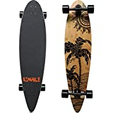 Rimable Bamboo Pintail Longboard (41 Inch, Coconut Tree)