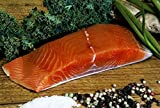 Wild Alaska KING Salmon - 10lb Box of Portioned Fillets