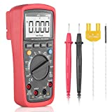 Digital Multimeter, Synerky TRMS 6000 Shots with Ohm Volt Amp and Diode Voltage Tester Meter/LCD Screen Backlit/NCV/Temperature Measurement