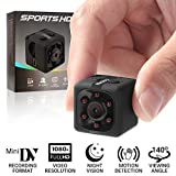 Mini Spy Hidden Camera Kkeep 1080P Portable Mini Security Camera Nanny Cam with Night Vision,Motion Detection, Perfect Indoor Covert Security Camera for Home and for Home and Office,Indoor/Outdoor Use
