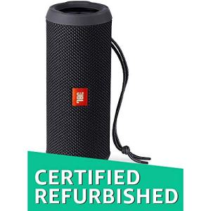 (Renewed) JBL Flip 3 Portable Wireless Speaker with Powerful Sound & Mic (Black)