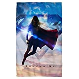 "Endless Sky -- Supergirl TV Show -- Beach Towel (36"" x 58"")"