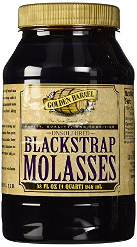 Golden Barrel Blackstrap Molasses, Unsulphured, 32 oz