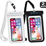 LENPOW Universal Waterproof Case, IPX8 Water Proof Phone Pouch Underwater Cellphone Dry Bag with Neck Strap for iPhone XS Max XR X 8 7 6 6s Plus 5s Samsung Galaxy S9 S8 Note Google Pixel LG HTC Sony