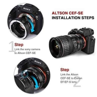 Altson-EFEF-S-Lens-to-Sony-E-Mount-T-Smart-Adapter-Ring-Black-CEF-SE
