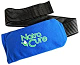 NatraCure Universal Cold Pack Ice Wrap - 1 Ice Pack w/ 1 Sleeve - (5' x 10' Pouch with 24' Nylon Belt Strap & 1 Clay Cold Pack)
