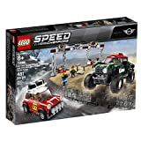 LEGO Speed Champions 1967 Mini Cooper S Rally and 2018 Mini John Cooper Works Buggy 75894 Building Kit , New 2019 (481 Piece)