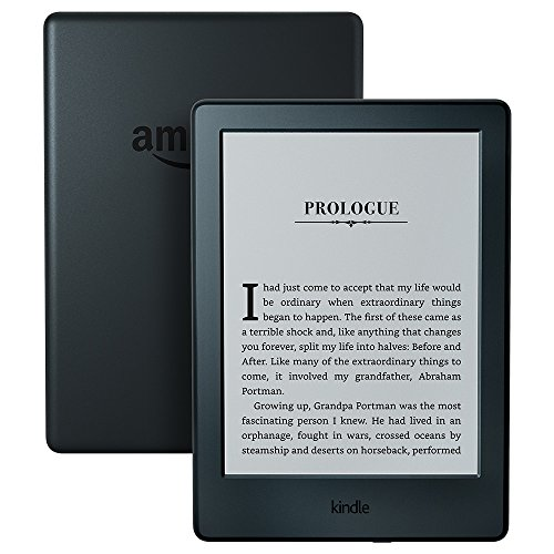 "Kindle E-reader - Black, 6"" Glare-Free Touchscreen Display, Built-In Audible, Wi-Fi - Includes Special Offers"