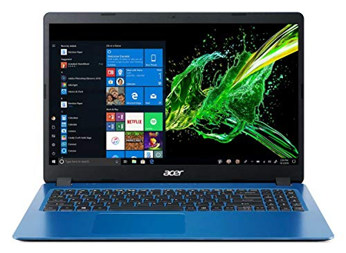 Acer Aspire 3 A315-42 15.6-inch Laptop (AMD Athlon 300U dual-core/4GB/1TB HDD/Window 10, Home, 64Bit/AMD Radeon Vega 3 Mobile Graphics), Blue 175